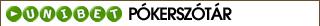 Pókerszótár
